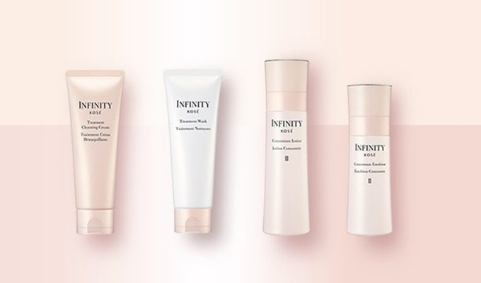 インフィニティ(INFINITY)クレンジング・洗顔・化粧水・乳液のサンプルセットをプレゼント