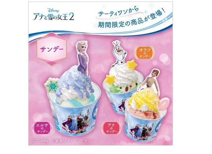 サーティワンアイスクリームのギフト券500円分をプレゼント
